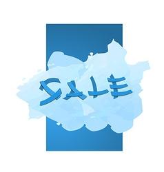 Sale promo banner vector