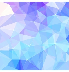 Abstract ice triangles background vector image vector image