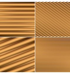 Bright brown backgrounds with parallel lines vector