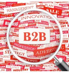 B2B vector image
