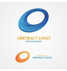 logo design element Abstract concept creative vector image
