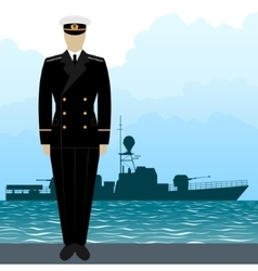 Military uniform navy sailor-11 vector