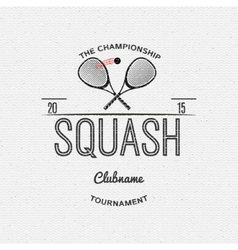 Squash badges logos and labels for any use vector