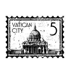 Vatican icon vector