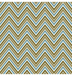 Zig-zag background Seamless pattern vector image