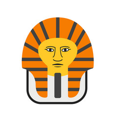 Egyptian face vector
