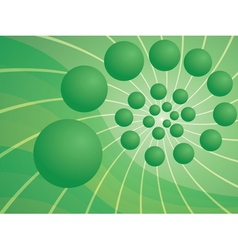 abstract background with spiral vector image vector image