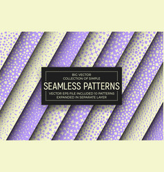 Abstract simple seamless patterns vector