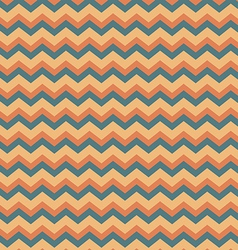 Chevron in peach and blue vector image vector image