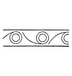 Persian design art of neighboring civilizations vector