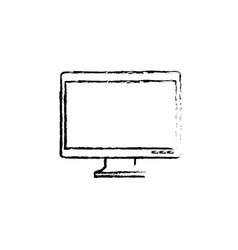 Modern tv technology vector