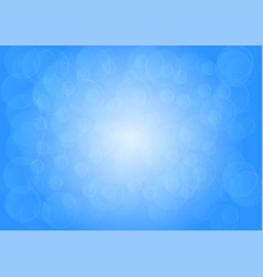 blue bokeh abstract background vector image vector image