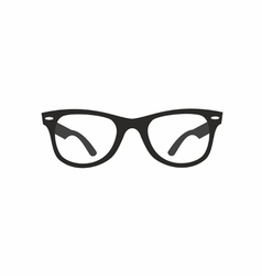 Glasses ray ban vector