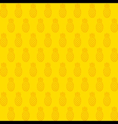 Pineapple pattern background design vector