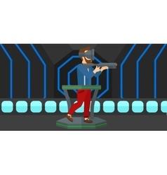 Full virtual reality vector image