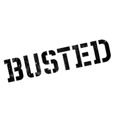 Busted stamp rubber grunge vector