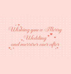Collection greeting card for wedding simple style vector