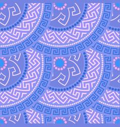 greek seamless ornament vector image vector image