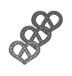 pretzels vector image vector image