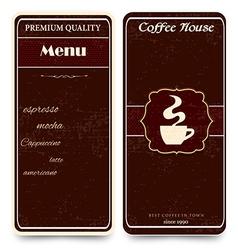 stylish menu vector image