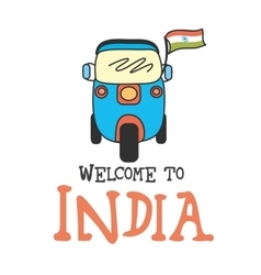 Welcome to india vector