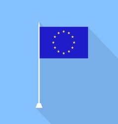 National flag of the european union vector