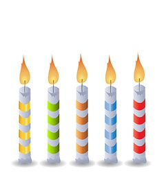 Birthday candle vector