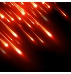Neon burst light rays eps 10 vector