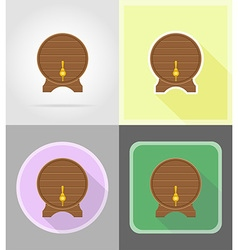 Pirate flat icons 14 vector