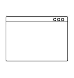 Web navigator symbol vector