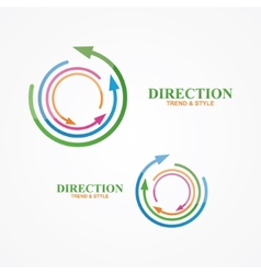 Logo design element creative modern abstract vector