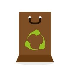 Eco design green concept earth protection icon vector