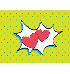 Card love vector image vector image