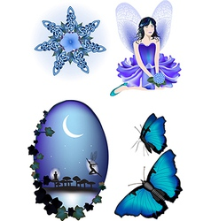 Enchanted collection vector