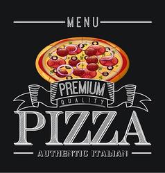 Pizza design vector