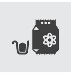 Washing powder icon vector image
