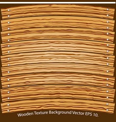 wooden texture background vector image