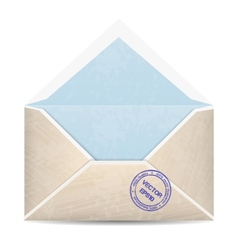vintage envelope vector image