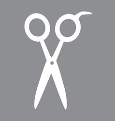 scissors design vector image