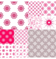 Big set seamless pattern vector