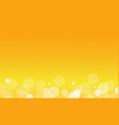 Abstract background of yellow light vector
