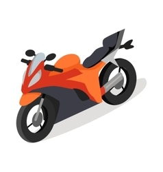 Bike icon in isometric projection vector