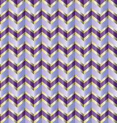 Chevron purple ribbon vector image vector image