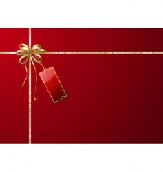 gift wrapping vector image
