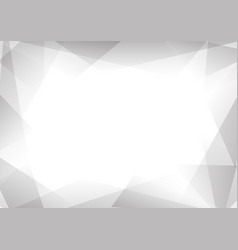 Grey and white prism abstract background vector
