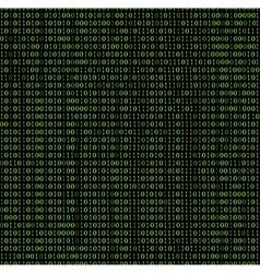 Cyber code seamless pattern vector