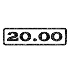 2000 watermark stamp vector
