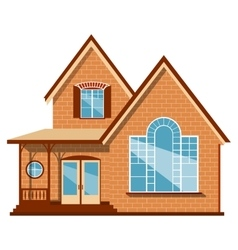 Unique house vector