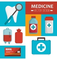 Medical heatlhcare graphic vector