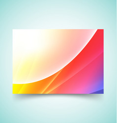 abstract waves set 8 vector image